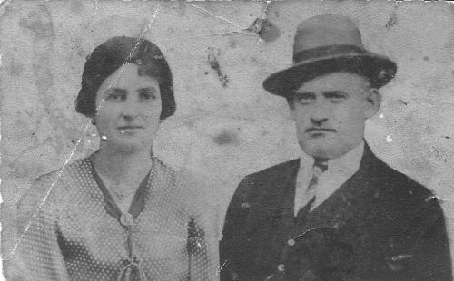 משפחת הרמן בימים הראשונים בארץ